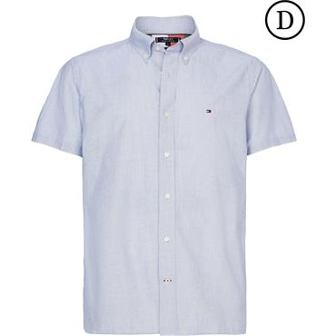 Tommy Hilfiger Flex Stripe Shirt - Blue Ink