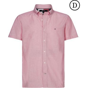 Tommy Hilfiger Flex Stripe Shirt - RED
