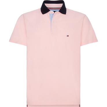 Tommy Hilfiger Undercolllar Polo - Washed Wathermelon Pink