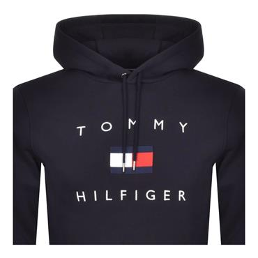 Tommy Hilfiger Flag Heather Hood - Navy