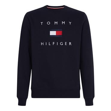 Tommy Hilfiger Flag Sweatshirt - Navy