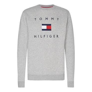 Tommy Hilfiger Flag Sweatshirt - Grey