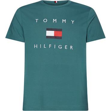 TOMMY FLAG HILFIGER - Vinatge Turquise