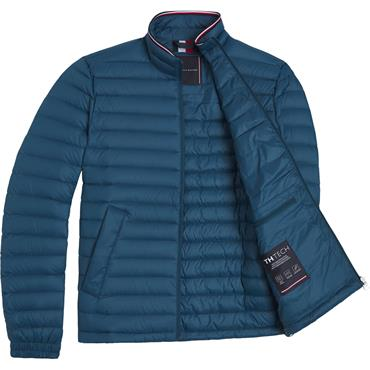 Tommy Hilfiger Packable Down Jacket - Lakeside Blue