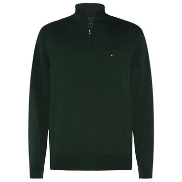 Tommy Hilfiger 1/2 Zip - Hunter Heather