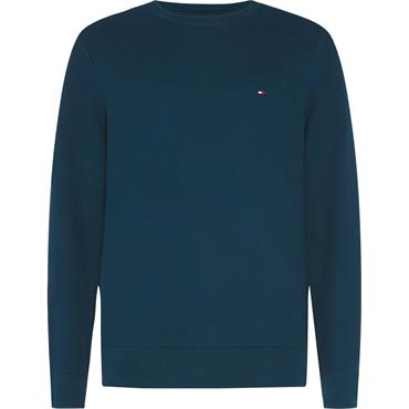 HONEYCOMB CREW NECK - Lakeside Blue