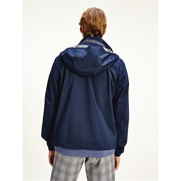 Tommy Hilfiger Stand Collar Jacket - Navy