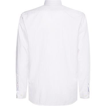 Tommy Hilfiger Stripe Oxford Shirt - Pink