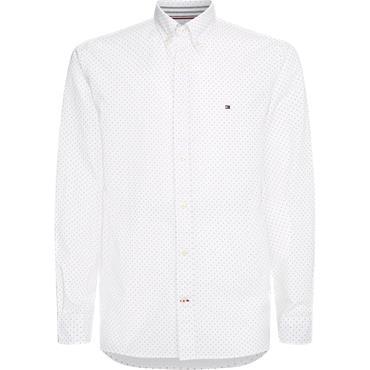 Tmmy Hilfiger Oxford Mini Print Shirt - Print