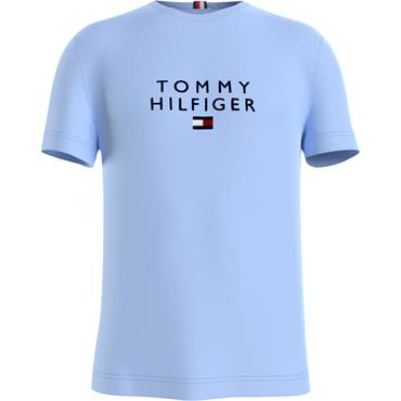 Tommy Hilfiger Stacked Flag T - Blue