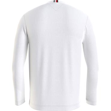 TOMMY HILFIGER L/S TEE - White
