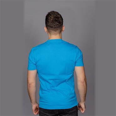 S/S PRINTED STAMP LO - Diva Blue