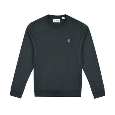 L/s Sticker Pete Fle - Darkest Spruce