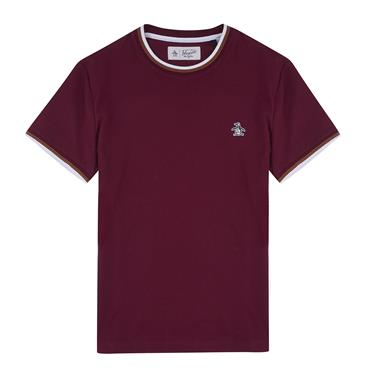 S/s Sticker Pete Tip - Tawny Port