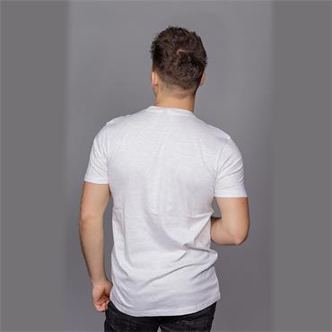 Prado Tee shirt - White Marl