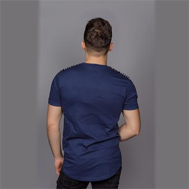 Fede Taped T-Shirt, Navy - Ellesse