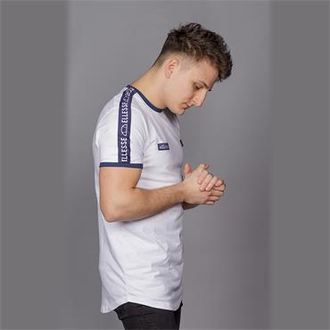 Fede Taped T-Shirt, White - Ellesse
