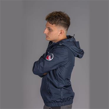 Terrazzo Full Zip Jacket, Mazarine Blue - Ellesse