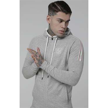 Sports Hoodie - Grey Marl