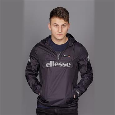 Berto 2 - Black 1/4 Zip Jacket - Ellesse