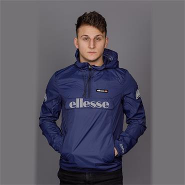 Berto 2 - Navy 1/4 Zip Jacket - Ellesse