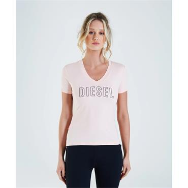 Diesel Womens Paloma Tshirt - Washed Coral