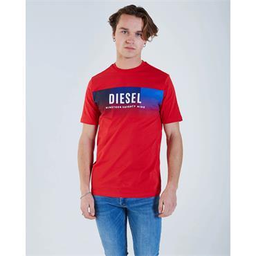 Diesel Theon Tee - True Red