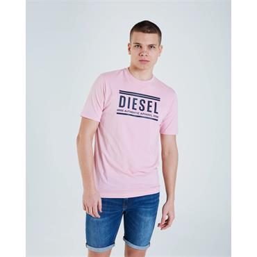 Diesel Kade Tee - Cameo Pink