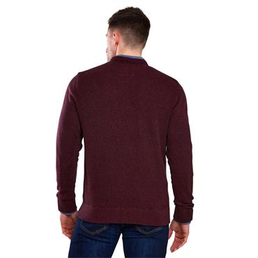 6th Sense Crew Neck - Wine