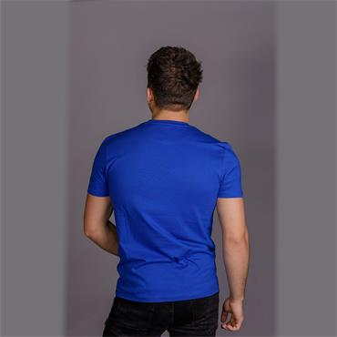 Contrast Pocket T-Shirt - Duke Blue
