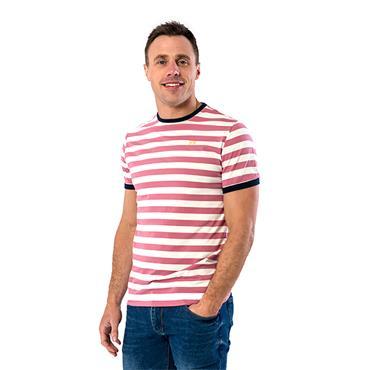 Xv Kings Tullamore TShirt - Mauve Stripe