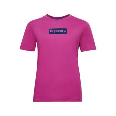 Superdry Womens CL Workwear T - Dusty Wine