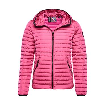 Superdry Core Down Jacket - Hot Pink