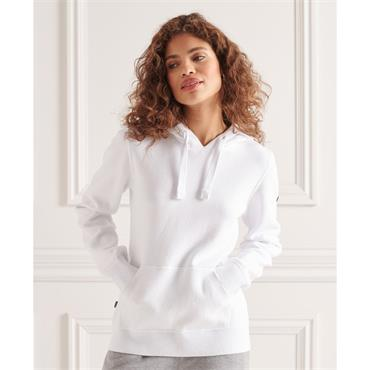 Superdry Womens Essential Cotton Hood - Optic