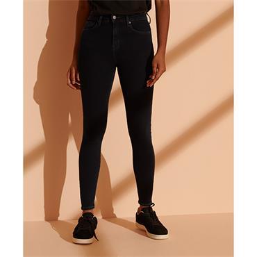 Superdry Womens High Rise Skinny Jeans - OD Indigo