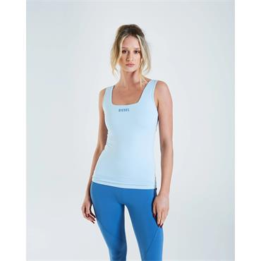 Diesel Women Gia Vest Top - Blue Icicle
