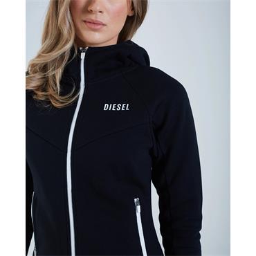 Diesel Womens Rebecca Zip - BLACK