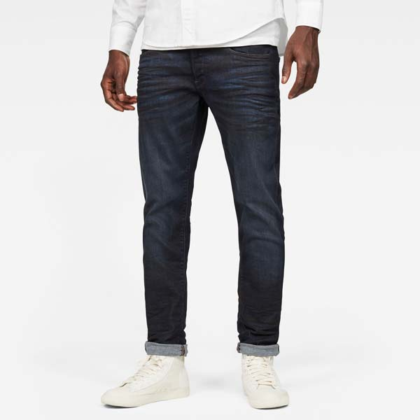 Man in jeans and white t-shirt