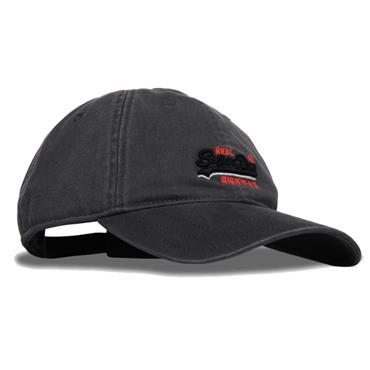 ORANGE LAB. WASH TWILL CAP S/DRY - GREY