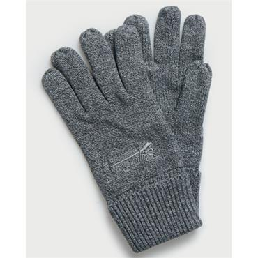 Superdry Orange Label Glove - GREY
