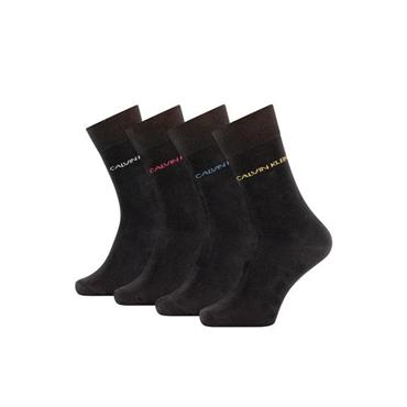 Calvin Klien 4pc Socks Boxed - BLACK