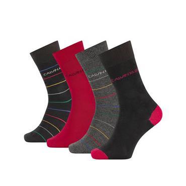 4 Pack Calvin Klein Socks - BLACK