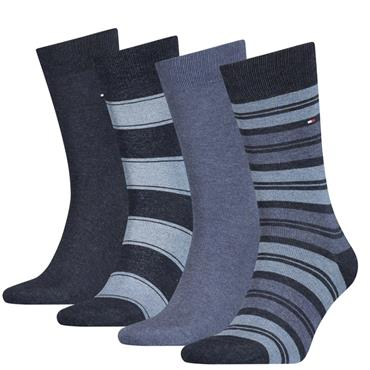 Hilfiger Socks Gift Set - 4 Pack - 383 Dark Navy