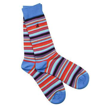 Red/blue Narrow Striped - 085 RED/BLUE