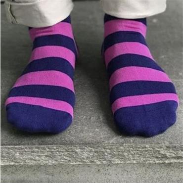 Rich Pink Striped - 16 PINK