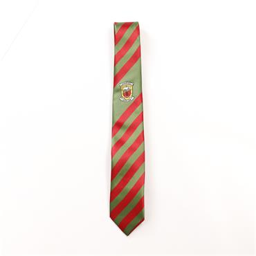 Mayo Red And Green Tie - RED