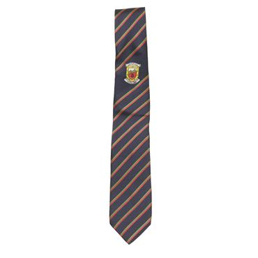 Mayo Navy, Red And Green Tie - Navy