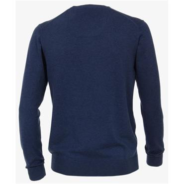 V-NECK  JUMPER    CASA MODA - 144BLUE