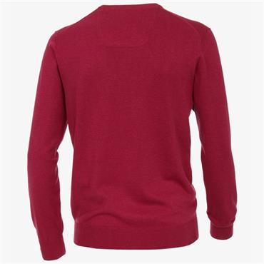 V-NECK  JUMPER    CASA MODA - 968 Plum