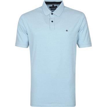 Plain Polo Shirt - Light Blue